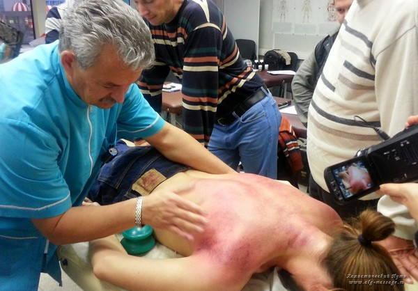 Сеанс Максимова с пциентом