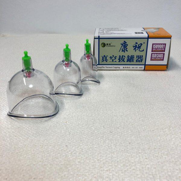 Набор анатомических банок разного диаметра, 3 шт.